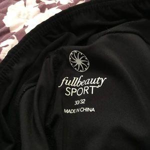 Plus Size Black Sport Pants!